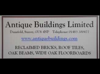 Antique Buildings. Reclamation materials and Oak Frame designers