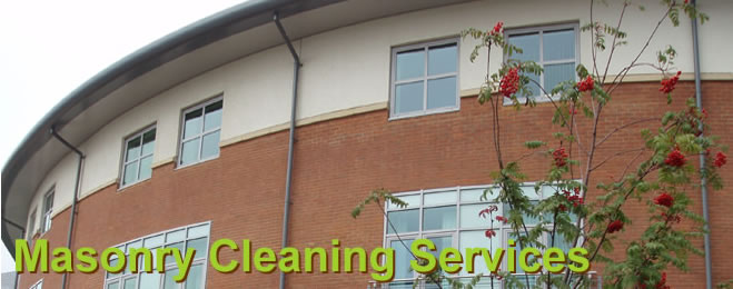 Masonry Cleaning Services