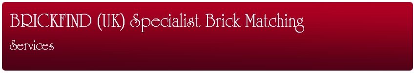 BrickFind UK Specialist Brick Matching